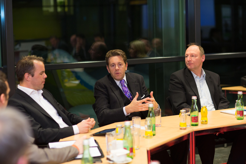 SIC diskutierte mit Staatssekretär Mahrer