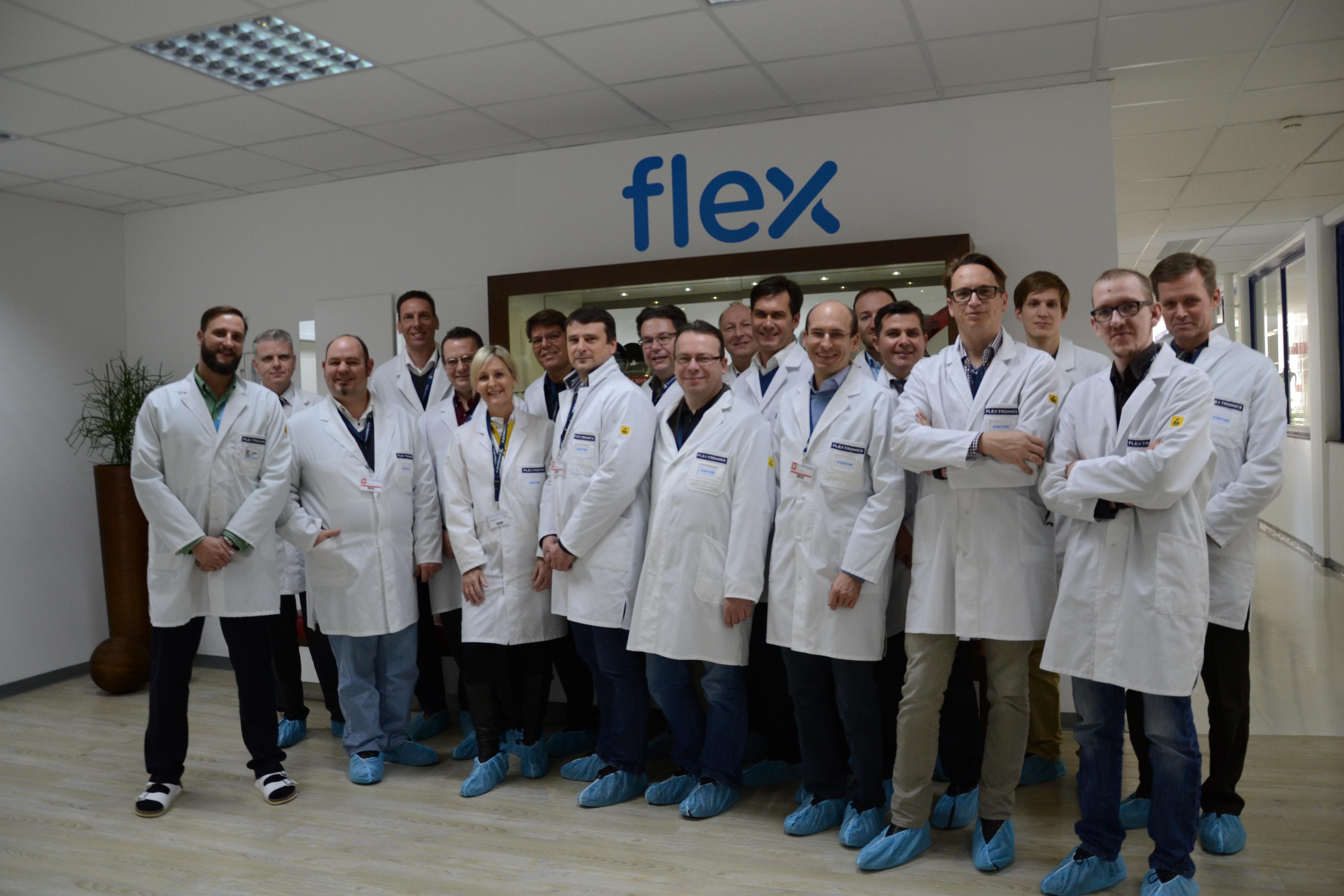 Firmenbesuche bei flex und Infineon: Ein Blick hinter die Kulissen von Industrie 4.0