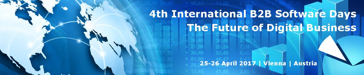 4th International B2B Software Days  – The Future of Digital Business