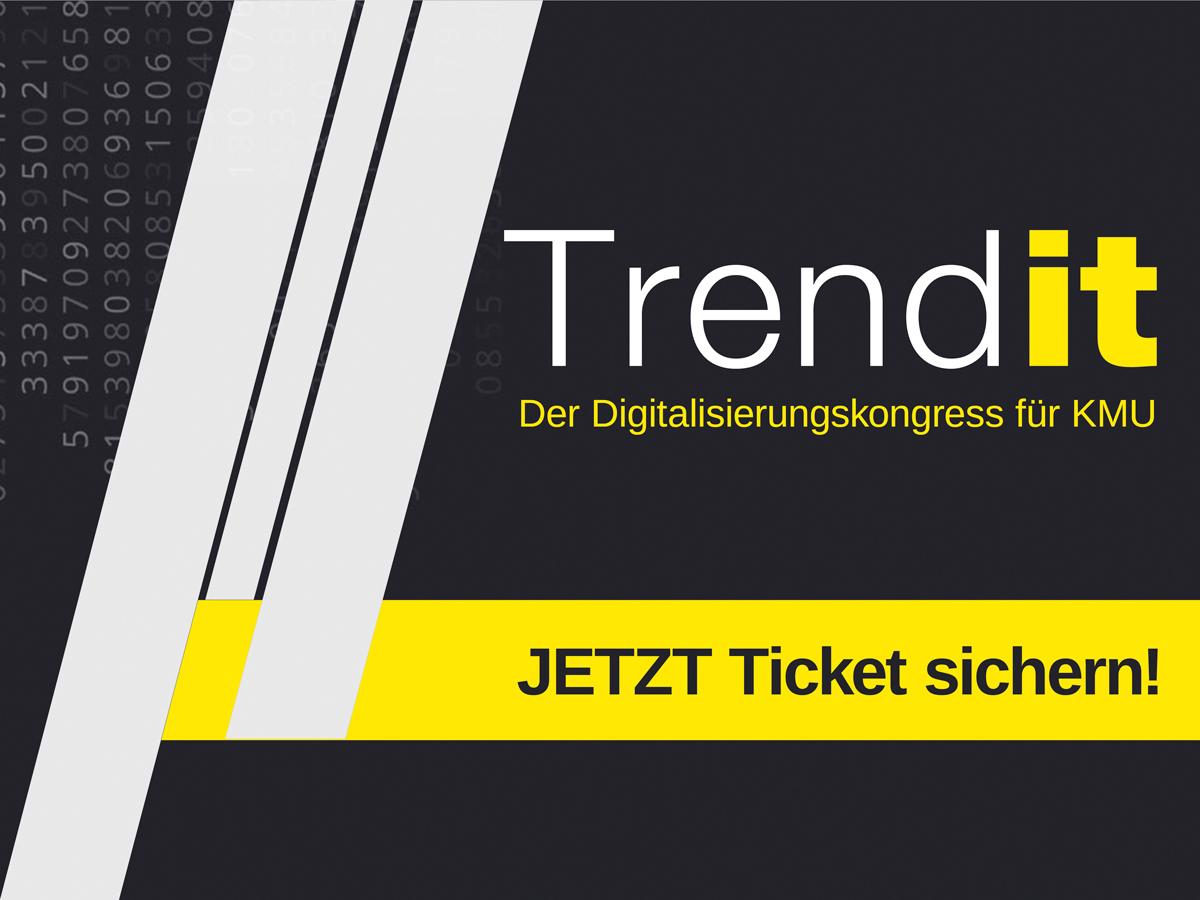 TrendIT: Digitalisierungskongess am 4./5. Oktober 2017