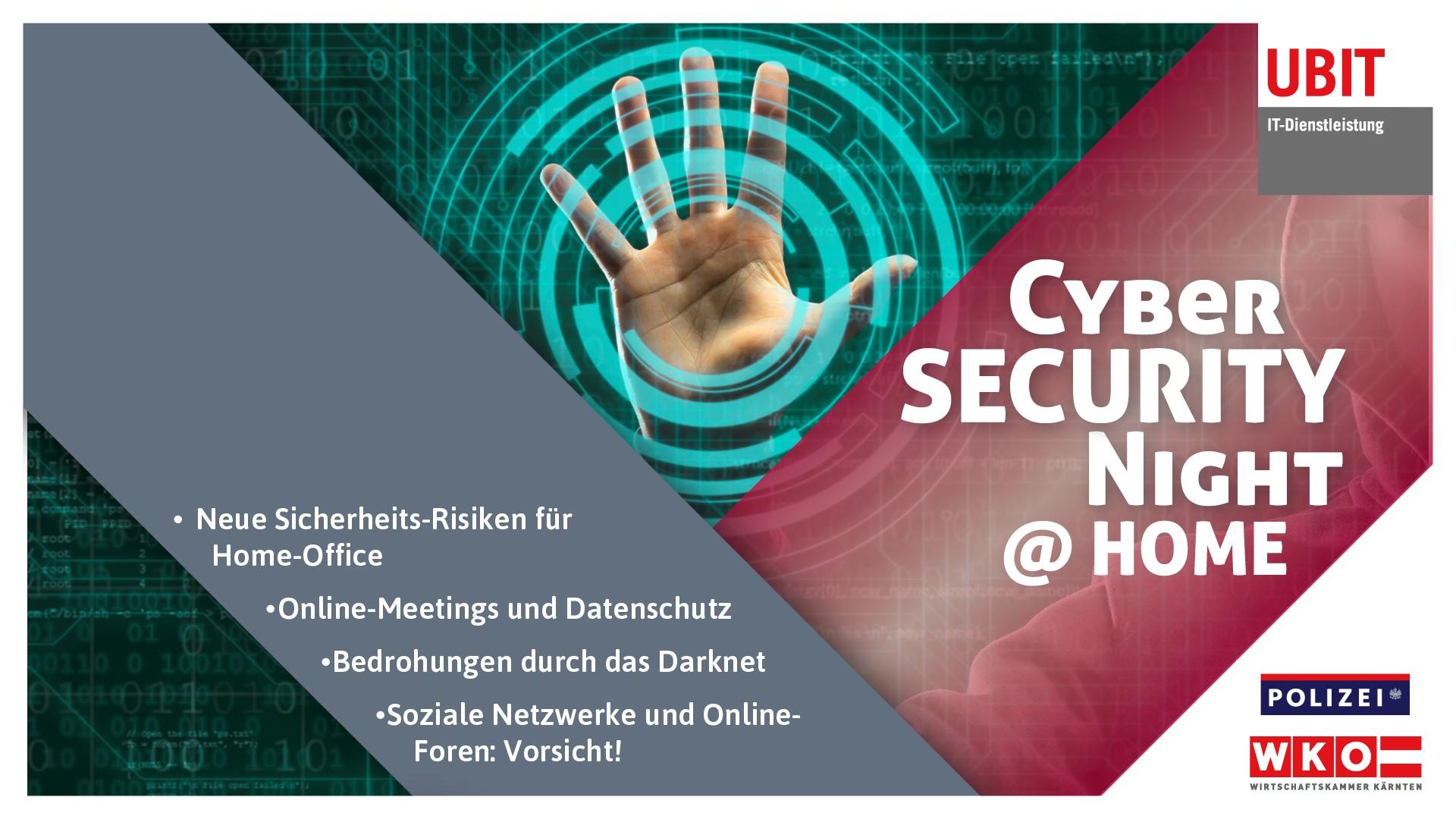 Videoschau der Cyber Security Night 2020