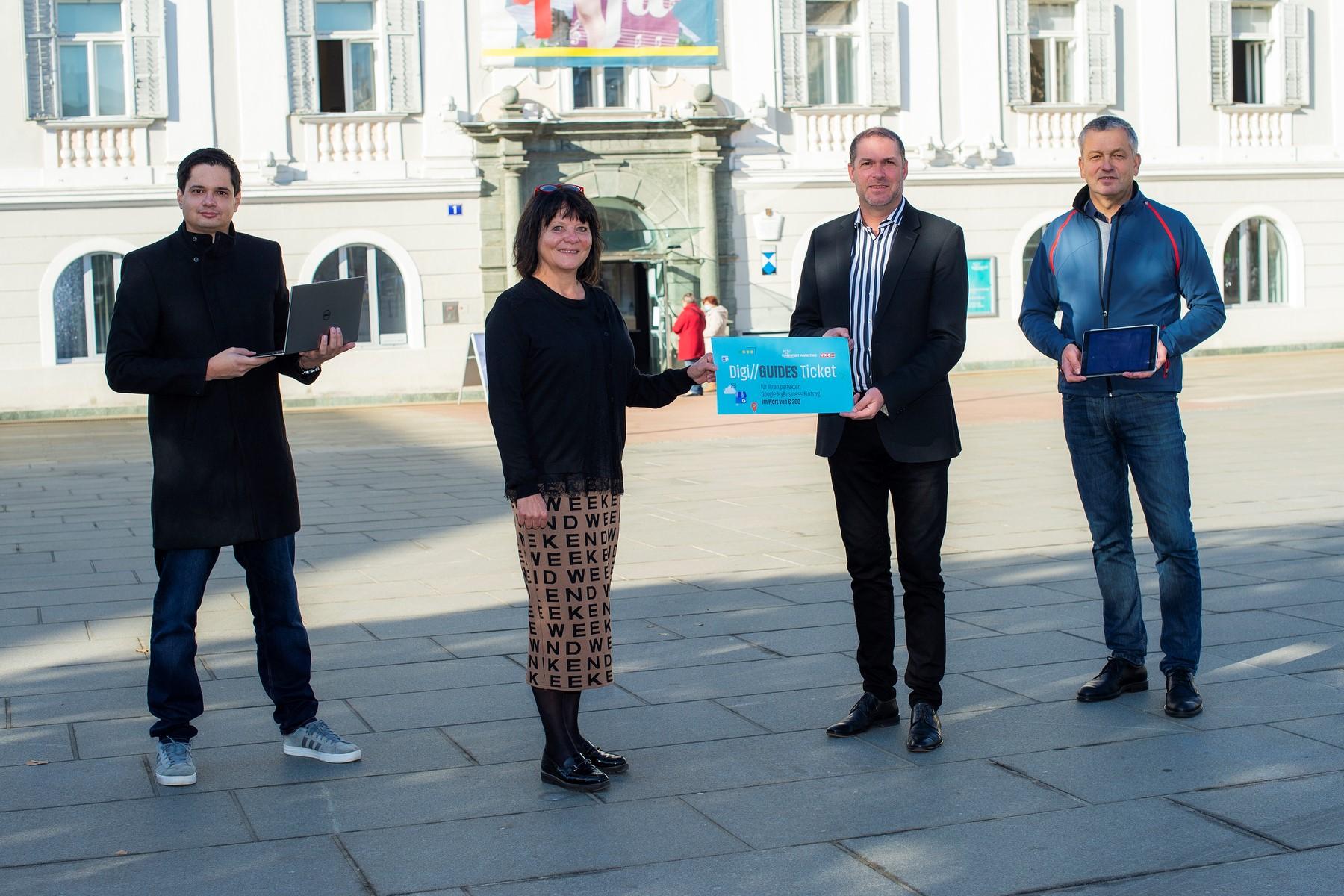 Digitalisierungsoffensive in Klagenfurt